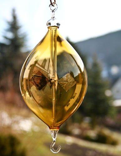 Lichtmühle Olive Ö/H farbig 60 mm Bernstein