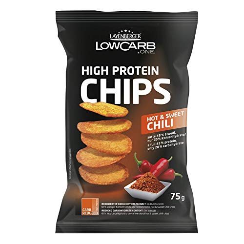 Layenberger LowCarb.one High Protein Chips Hot & Sweet Chili, 75 g