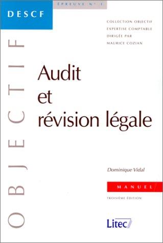 Audit et révision légale (ancienne édition)