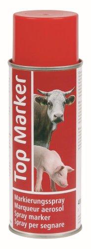 Viehzeichenspray 400ml/rot TopMarker