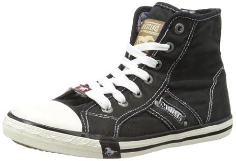 Mustang 1099 502 9, Sneakers Hautes femme, - Noir (9