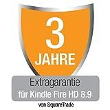 Kindle Fire HD 8.9 Extragarantie [3 Jahre] mit Unfall- und Diebstahlschutz, nur Deutschland