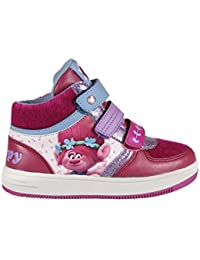 Trolls 2200-2578 Mädchen Sneaker, Flashing Schuhe, mehrfarbig, Poppy (27)