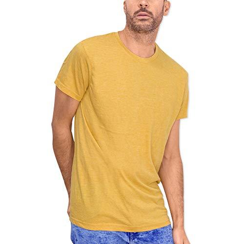 VIENTO Basics Herren T-Shirt (Earth, x-Large)