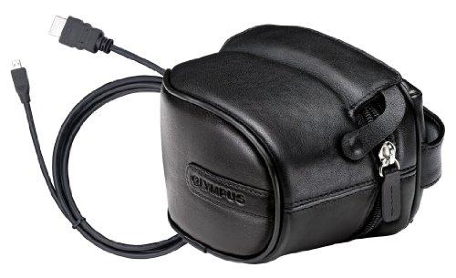 Olympus SP-Zubehör Kit für SP-600UZ, SP-800UZ, SP-610, SP-620, SP-810 (Kameratasche (Leder) und CB-HD1 High Speed HDMI Kabel) (Olympus Sp 800)