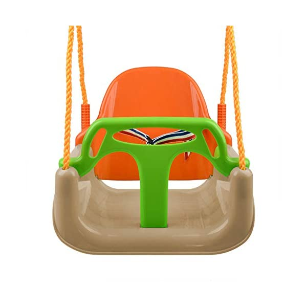 JTYX 3 in 1 Children Swing Chair Indoor Outdoor Home Hammocks Baby Seat Child Toy Large Space Hammock Chairs JTYX Strong carrying capacity: sturdy and durable, bearing capacity up to 120kg, ensuring stable swing.. Rugged and durable: high temperature resistance, fading resistance, ensuring safe use.. Versatility: Through these swings, you can inspire your child's ability to balance and promote balance while bringing happiness and total relaxation.. 2
