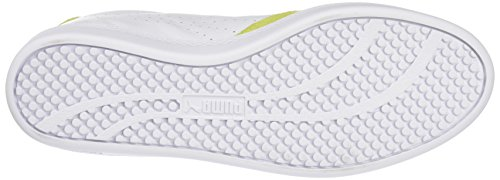 Puma Damen Matchlobswnf6 Sneakers Weiß (WHITE/YELLOW 19WHITE/YELLOW 19)