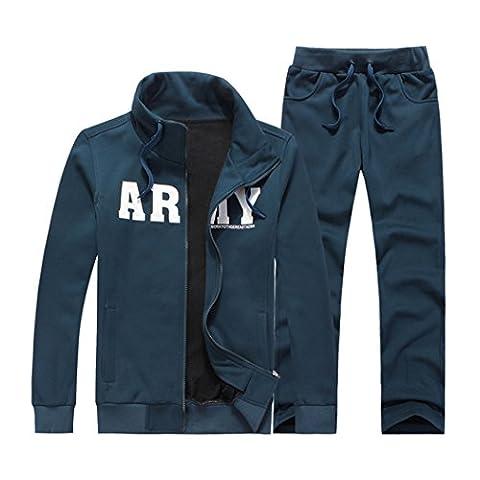 WALK-LEADER - Sweat-shirt à capuche - Personnage - Col Rond - Manches Longues - Homme - bleu - XXS