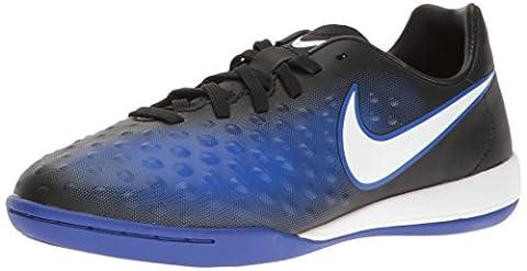 Nike Unisex-Kinder Magista X Opus II IC Fußballschuhe, Blau (Black/White-Prmnt Bl-Bl Tnt), 38.5 EU