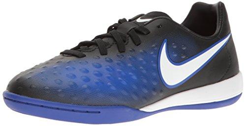 Nike Unisex-Kinder Magista X Opus II IC Fußballschuhe, Blau (Black/White-Prmnt Bl-Bl Tnt), 37.5 EU (2 Schuhe Ace)