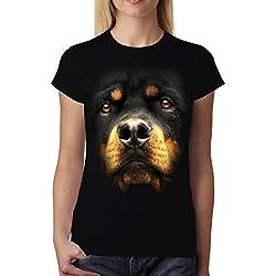 Camisetas Rottweiler mujer