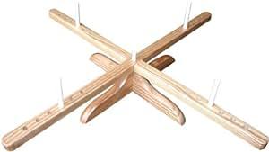 ChiaoGoo Amish-Design Wooden Yarn Swift-, Other, Multicoloured