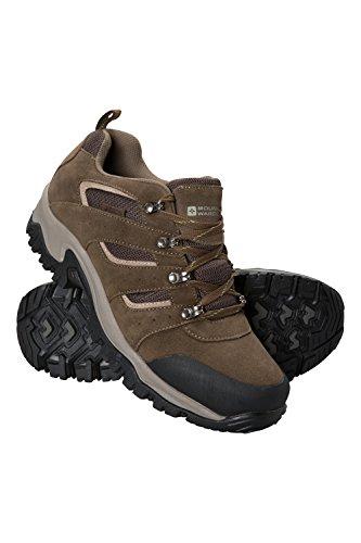 Mountain Warehouse Voyage Wasserfeste Schuhe für Herren - Leicht, Schnelltrocknend, Wanderstiefel, Eva-Zwischensohle, Netzstoff, Laufschuhe, Laufsohle Gummi - Für Reisen Braun 44