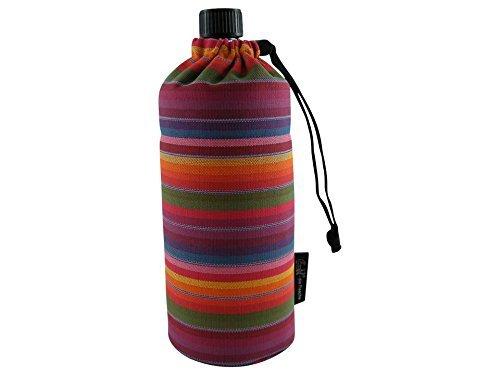 Emil 0,6l - Bio Streifen Trinkflasche Flasche ADULTS