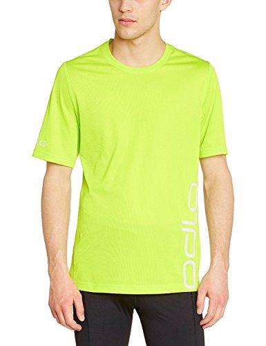 Odlo Herren Running Kurzarm T-Shirt Short Sleeve Event T Lime Punch