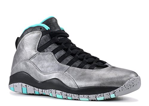 Nike Air Jordan 10 Retro 30th, Chaussures de Sport Homme dust, metallic gold-black-retro