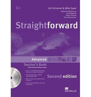 [(Straightforward Second Edition Teacher's Book Pack Advanced Level)] [Author: Jim Scrivener] published on (January, 2013)