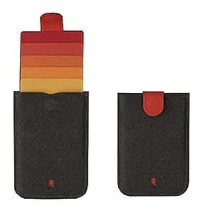 DAX Wallet: Das erste Pull-tab Portemonnaie der Welt, das einen einfachen und schönen Zugang zu Ihren Karten erlaubt. Präsentiert von MakakaOnTheRun.