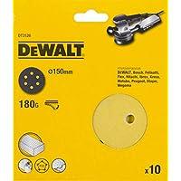 DeWalt DT3126-QZ Discos de Lija de 150 mm y Grano 180, Set de