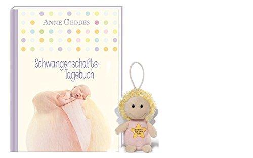 Nici Schwangerschaftstagebuch Anne Geddes SchutzengelIch pass auf dich auf 10 cm Schlüsselanhänger