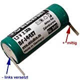 Blackfort Batterie de remplacement pour brosse à dents électrique Braun Oral-B 5000...