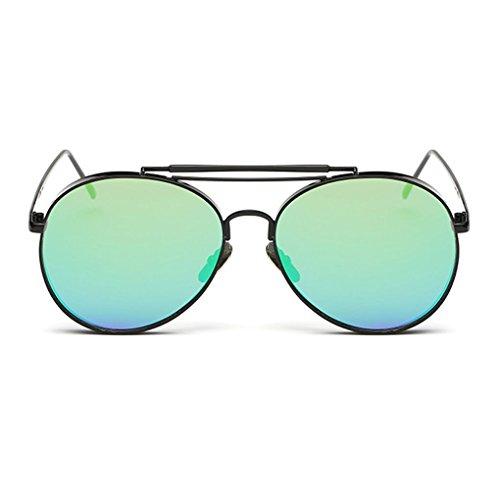 Junecat Retro Klassische Outdoor-Reisen Brillen Metallrahmen Sonnenbrillen Frauen Mann