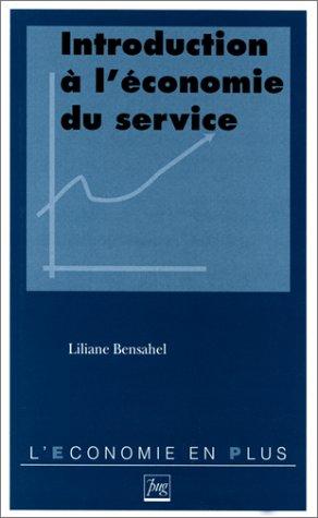 Introduction à l'économie du service