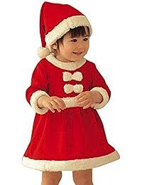 Amazon.es  Rojo - Vestidos   Niñas de hasta 24 meses  Ropa 12991d8d516a