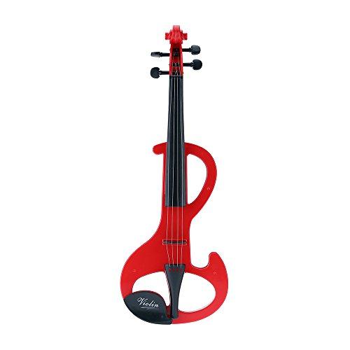 Andoer® Frühere Kindheit Musikinstrument Spielzeug Simulation Geige für Kinder 3 Modi 8 Lieder Gelegentliche Anlieferung von Farben