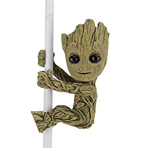 NECA New Groot Figura de 5 cm, Scalers Marvel Guardianes De La Galaxia 2, Multicolor (NEC0NC14804)