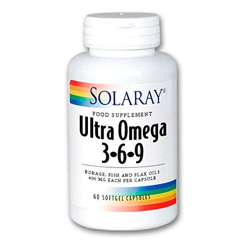 Solaray Ultra Omega 3-6-9, 60 Tablettes - Wartung 60 Tabletten