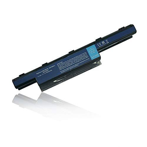 Ersetzt Laptop Akku AS10D3E AS10D31 AS10D41 AS10D61 AS10D71 AS10D81 für Acer Aspire 4250G 4350G 5741G/TravelMate/Emachines/Packard Bell Series [11.1V 4400mAh] - As10d31 Akku Laptop