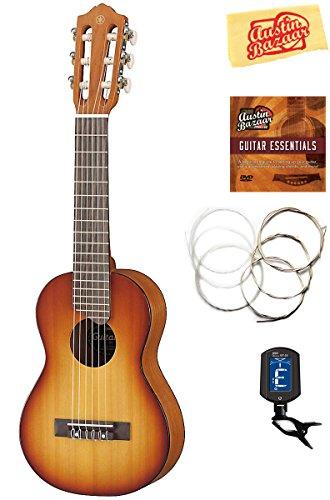Yamaha GL1Gitalele Gitarre Ukulele Bündel tobacco sunburst
