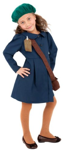 smiffys-world-war-ii-evacuee-girl-costume-dress-hat-and-bag-ages-10-12-colour-blue-38651