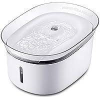 HoneyGuaridan W18 Fontanella automatica per acqua potabile, distributore di acqua per cani e gatti, 2L
