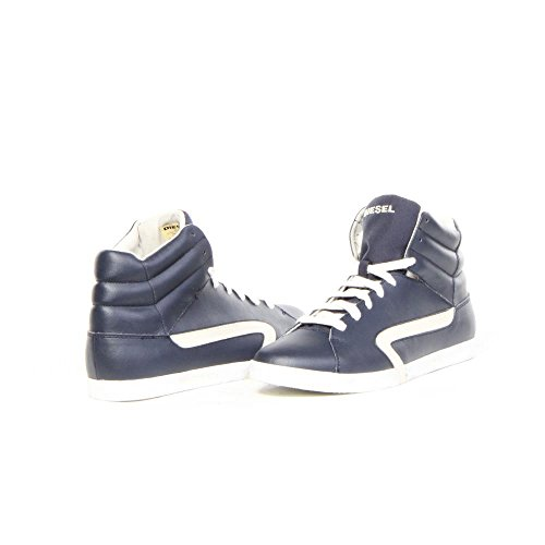 Diesel Y01166 E-klubb Hi P0611, Sneakers basses homme Blue Nights / White Birch
