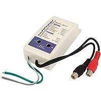 sourcingmap® Alto a Basso VF 2 Canali RCA Auto Linea Convertitore Uscita Adattatore QP-07