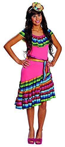 Kostüm Mexiko Von - Mexikanerin Kleid Damen Kostüm Mexiko Karneval