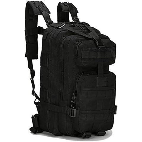 HMILYDYK–Militare Army Patrol Molle Assault Pack combattimento tattico Zaino, resistente all' acqua, migliore con diversi scomparti, 25L - Oversize Gear Bag