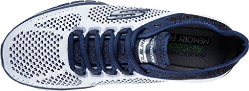 Skechers - Burst Tr - Flinchton - Scarpe Uomo - Navy/Gray - 52609/NVGY Wnv
