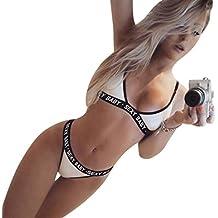 Conjuntos De LenceríA Mujer Encaje Atractivo Ropa De Dormir ZARLLE Mujeres Chicas Sexy Lingerie Corset Push Up Bra + Pantalones Bra Push Vendaje Deportivo Conjunto De Ropa Interior