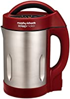 Morphy Richards 501018 Soup and Smoothie Maker, 1.6 Litre, 1160 Watt, Red