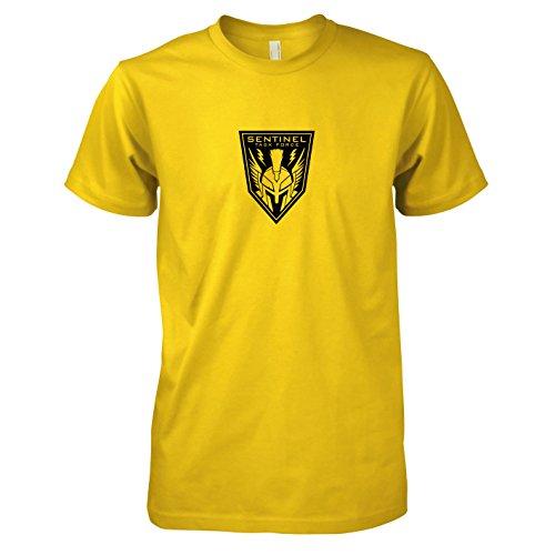 TEXLAB - Sentinel Task Force - Herren T-Shirt, Größe XXL, gelb