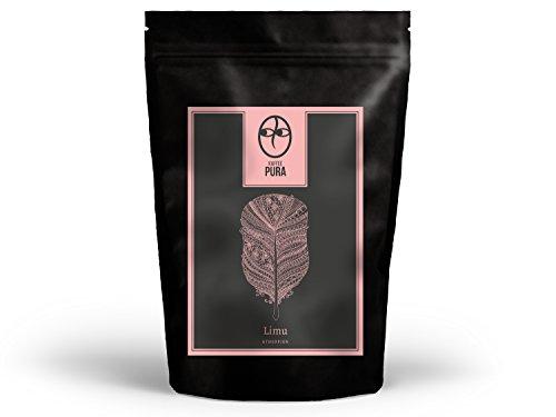 KAFFEE PURA Limu, 1000g ganze Bohnen, biologisch angebaut und fair gehandelt