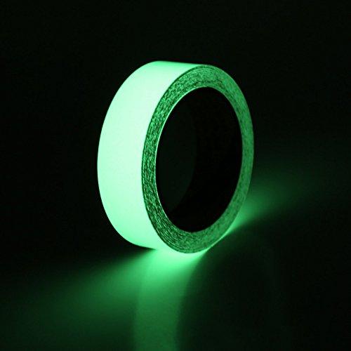 (Ruban lumineux de sécurité lumineuse, Autocollant à bande lumineuse, Selbstklebendes leuchtendes Band, Glühen im dunkelgrünen leuchtenden Band-Aufkleber)