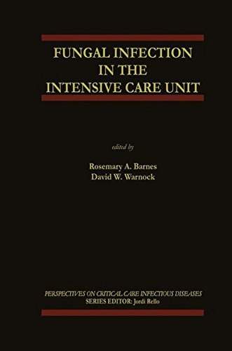 Fungal Infection In The Intensive Care Unit (perspectives On Critical Care Infectious Diseases Book 6) por Rosemary A. Barnes epub