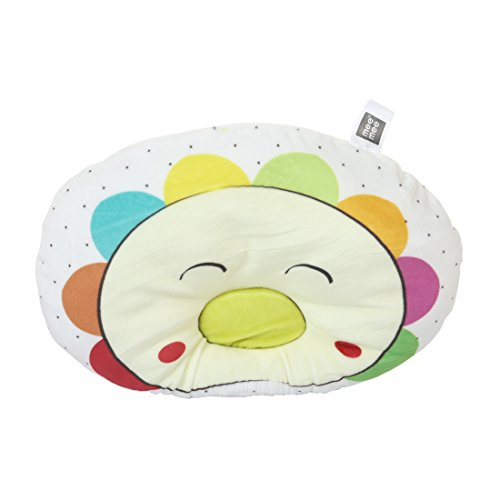 Mee Mee MM-1465 A Breathable Baby Pillow with Head Support (Yellow)