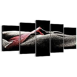 Bild auf Leinwand - Leinwandbilder - fünf Teile - Breite: 160cm, Höhe: 85cm - Bildnummer 0350 - fünfteilig - mehrteilig - zum Aufhängen bereit - Bilder - Kunstdruck - EA160x85-0350