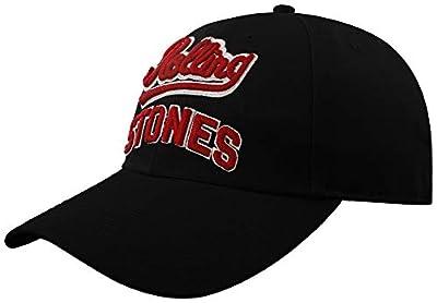 Rolling Stones The Team Logo Official Mens Black Baseball Cap Hat One Size von T-Shirt auf Outdoor Shop