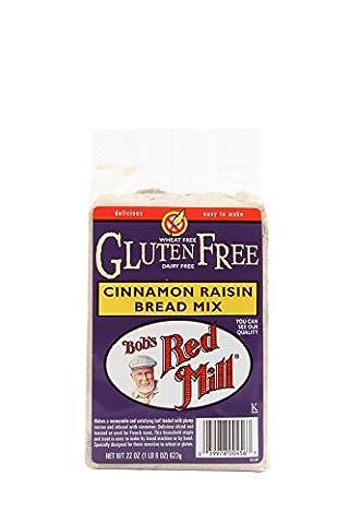 Bob's Red Mill Cinnamon Raisin Gluten Free Bread Mix (4x22 Oz)